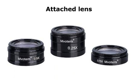 attached lens